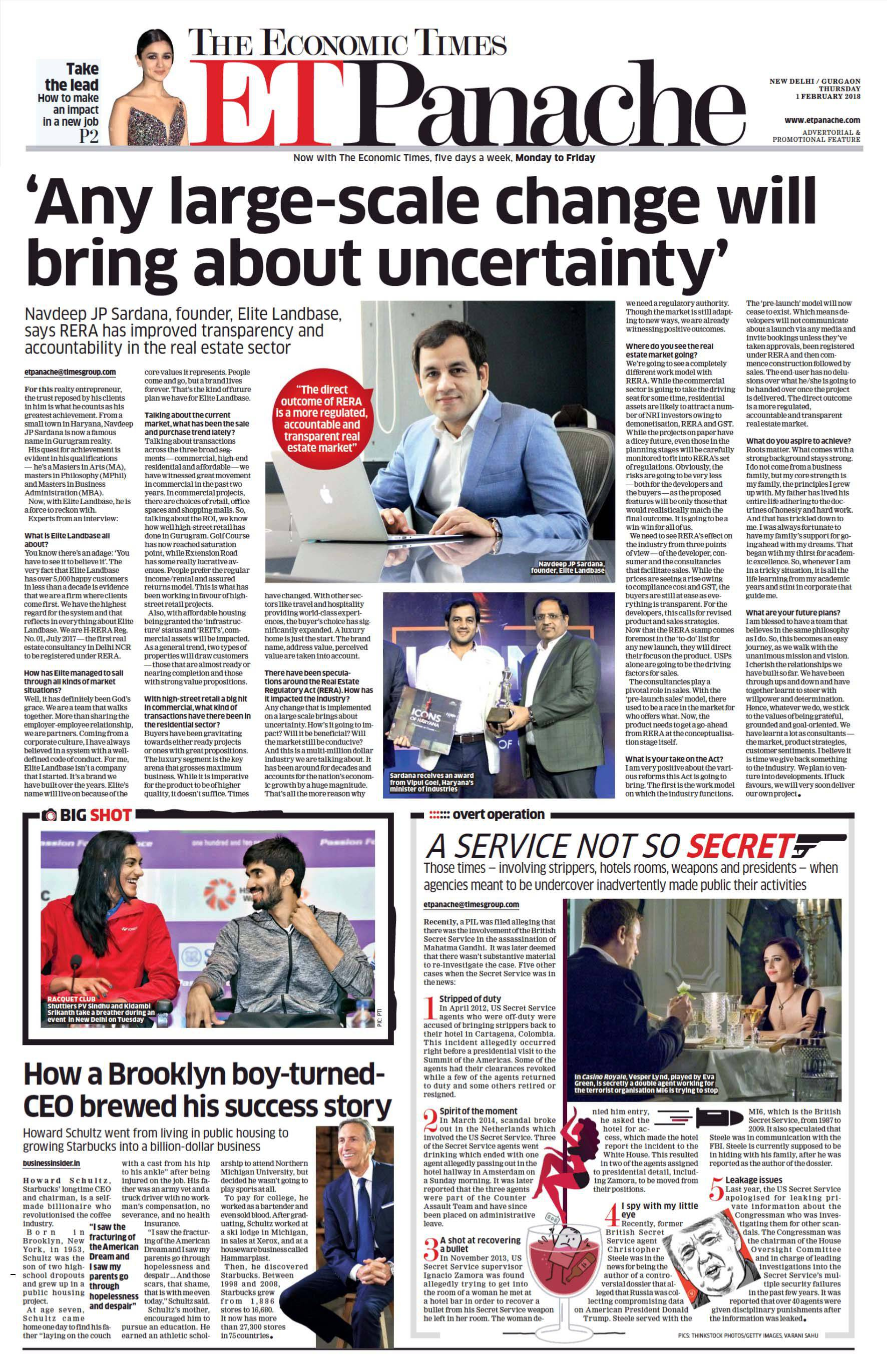 'Any large-scale change will bring about uncertainty'