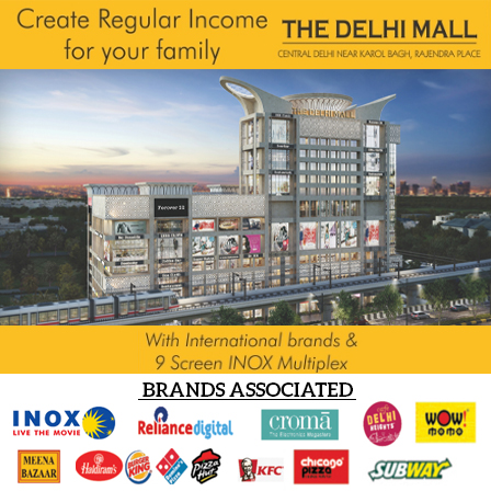The Delhi Mall offer banner