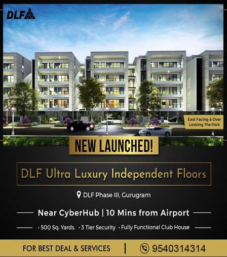 DLF Floors Phase 3 offer banner